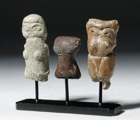Group of 3 Valdivian Pottery Venus Figures