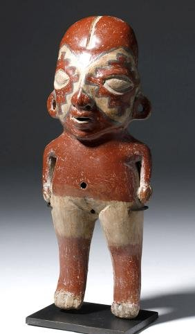 Chupicuaro Polychrome Standing Female Figure - Intact!