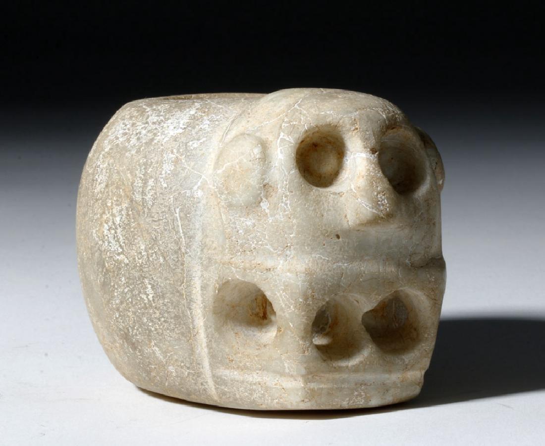Costa Rican Stone Mace Head - Human Form