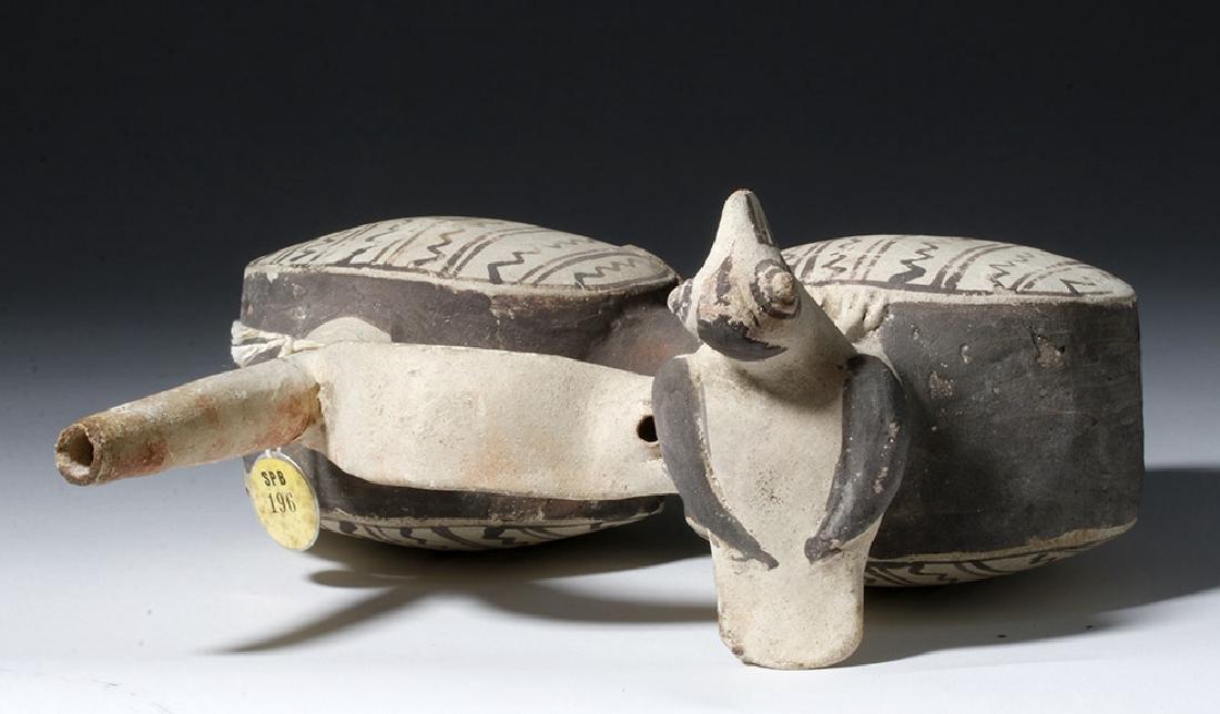 Chancay Pottery Whistling Stirrup Jar, ex-Sothebys - 6