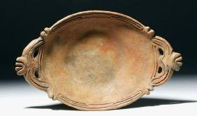 Rare / Authentic Taino Pottery Platter