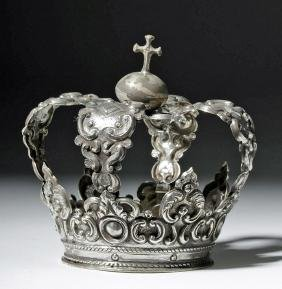 Spanish Colonial / Bolivian Silver Crown - 92.8 grams