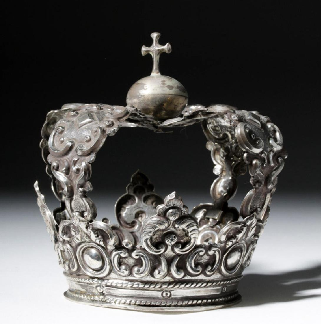 Spanish Colonial / Bolivian Silver Crown - 92.8 grams - 3