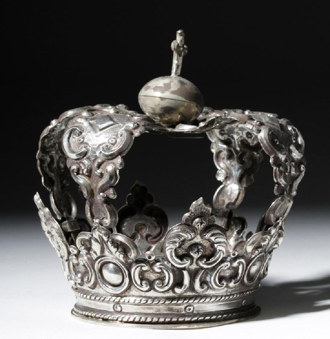 Spanish Colonial / Bolivian Silver Crown - 92.8 grams - 4