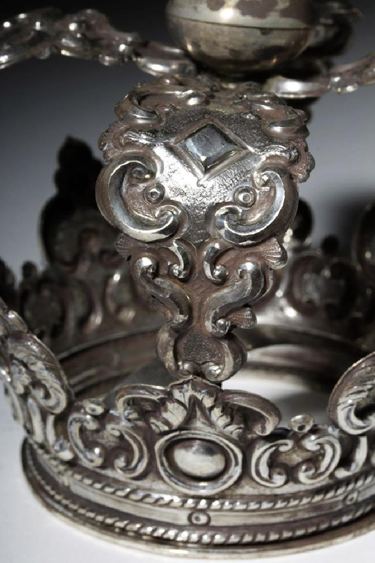 Spanish Colonial / Bolivian Silver Crown - 92.8 grams - 6