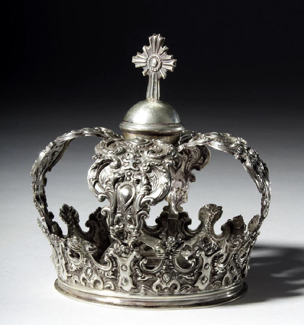 Beautiful Bolivian Silver Crown - 164 grams
