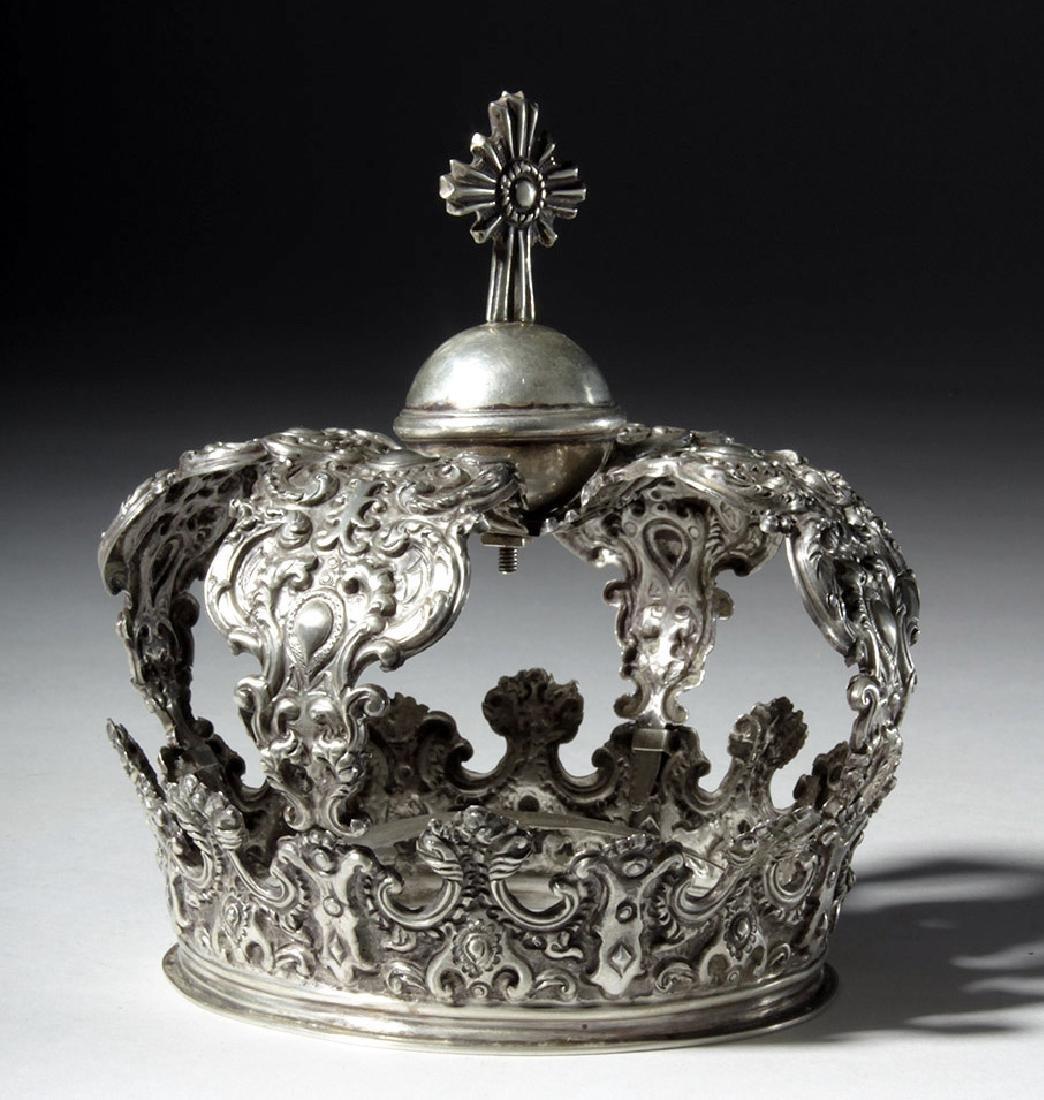 Beautiful Bolivian Silver Crown - 164 grams - 2