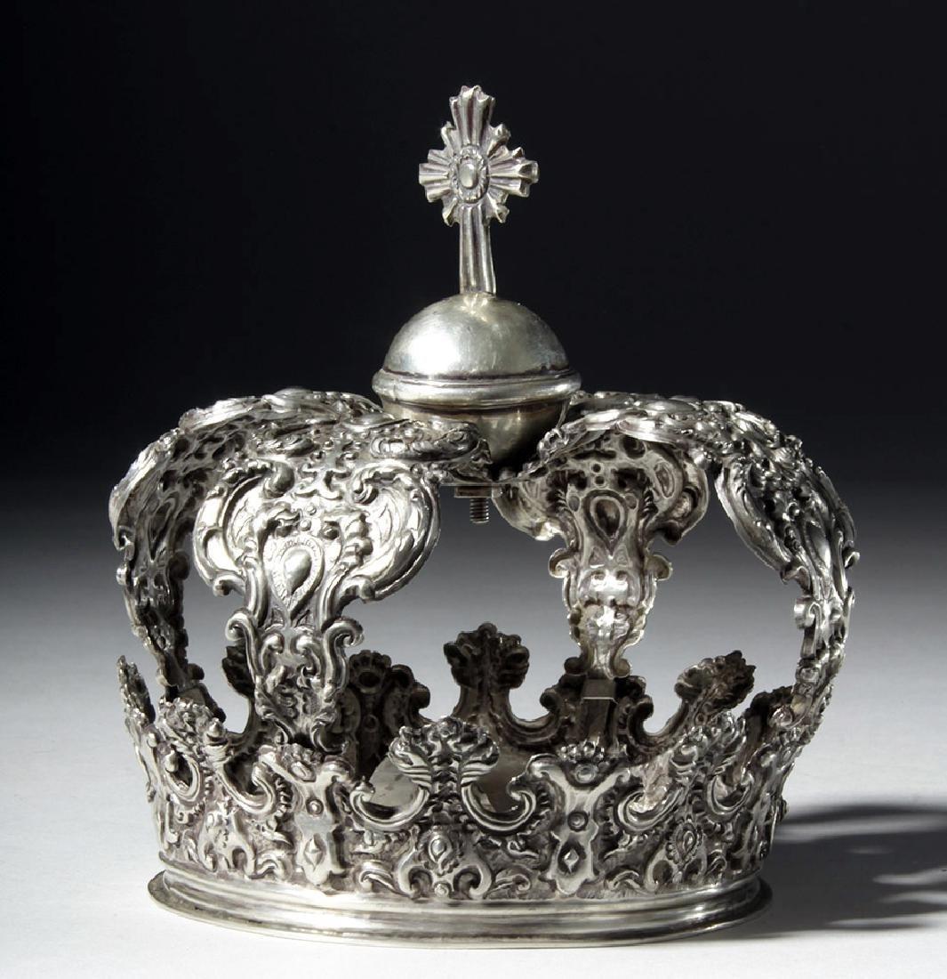 Beautiful Bolivian Silver Crown - 164 grams - 3