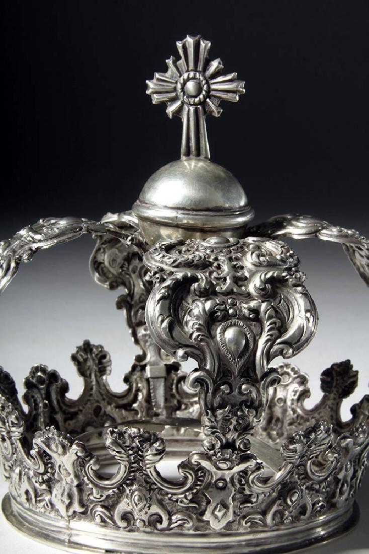 Beautiful Bolivian Silver Crown - 164 grams - 5