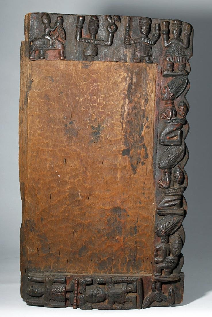 19th C. African Yoruba Wood Divination Board