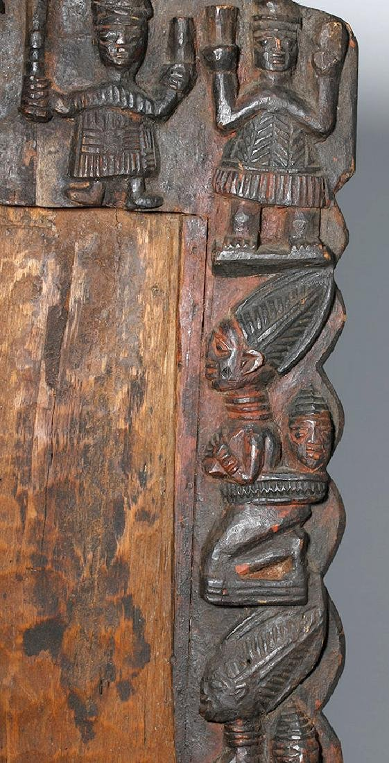 19th C. African Yoruba Wood Divination Board - 3