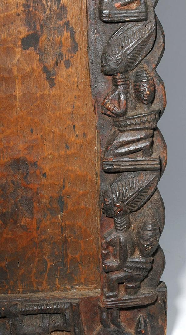 19th C. African Yoruba Wood Divination Board - 4