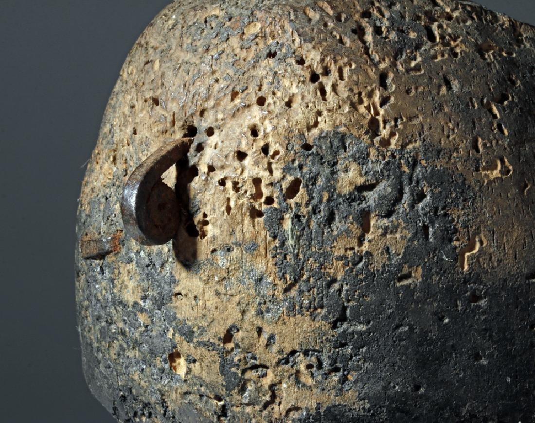 Early 20th C. African Loma Wood Landai Mask - Hair - 2