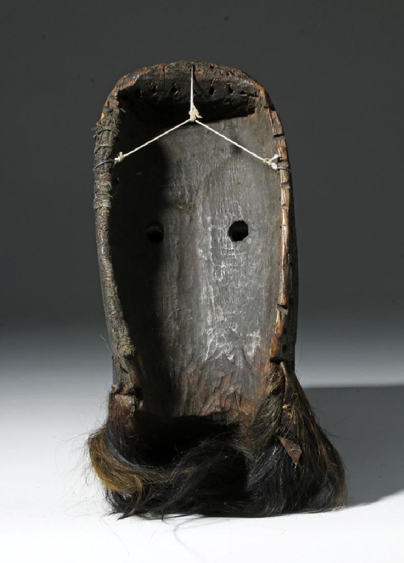 Early 20th C. African Loma Wood Landai Mask - Hair - 4