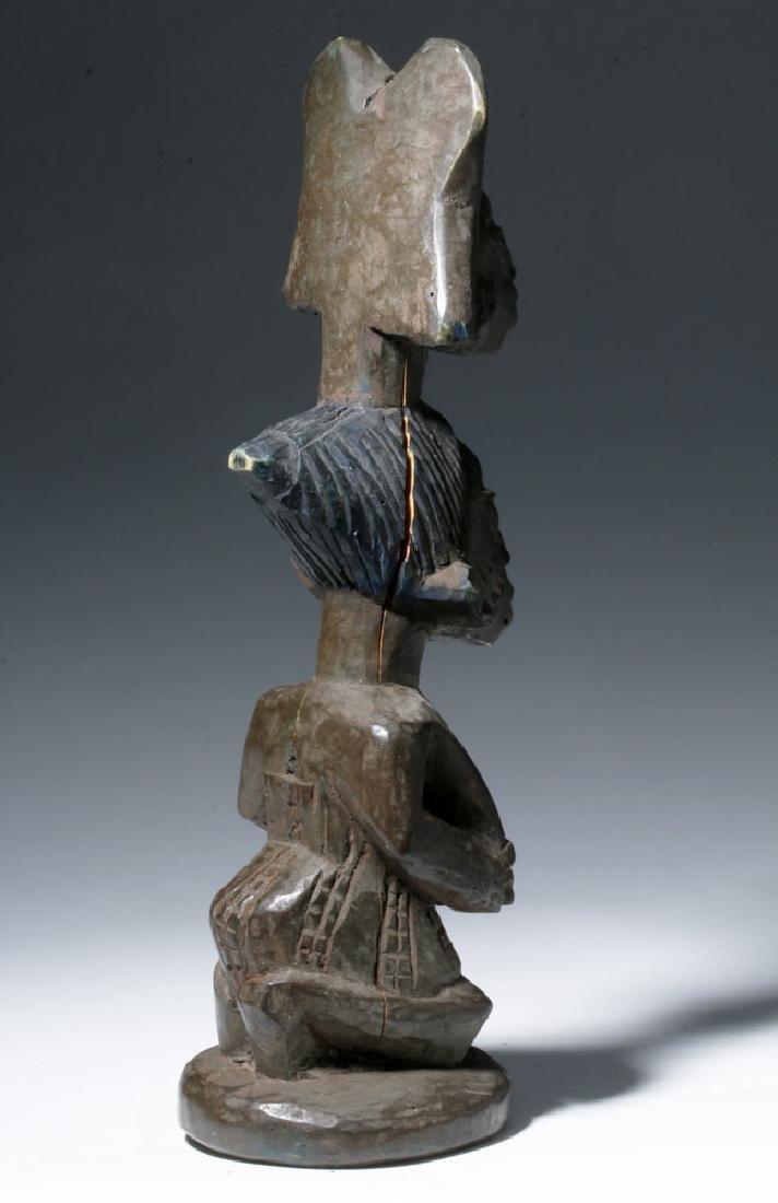 20th C. African Yoruba Wood Shango Cult Figure - Orisha - 3