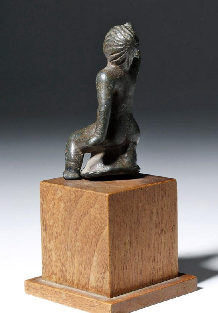 Roman Bronze Statuette of Young Boy - 2