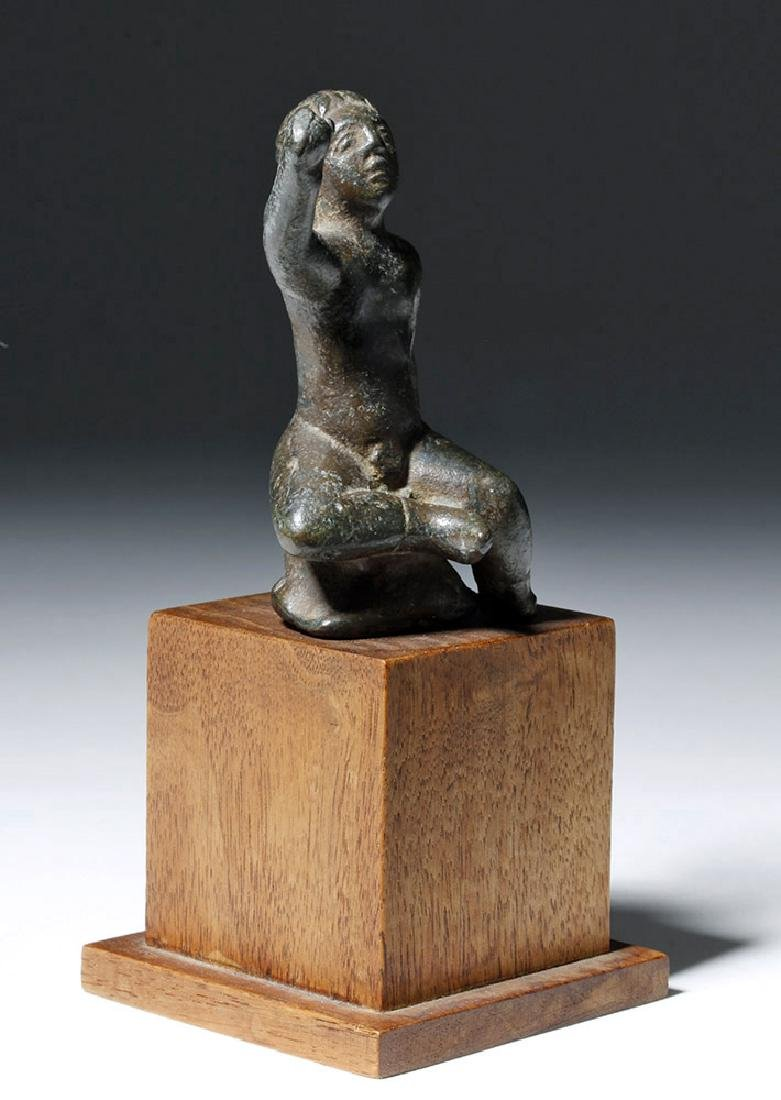 Roman Bronze Statuette of Young Boy - 4