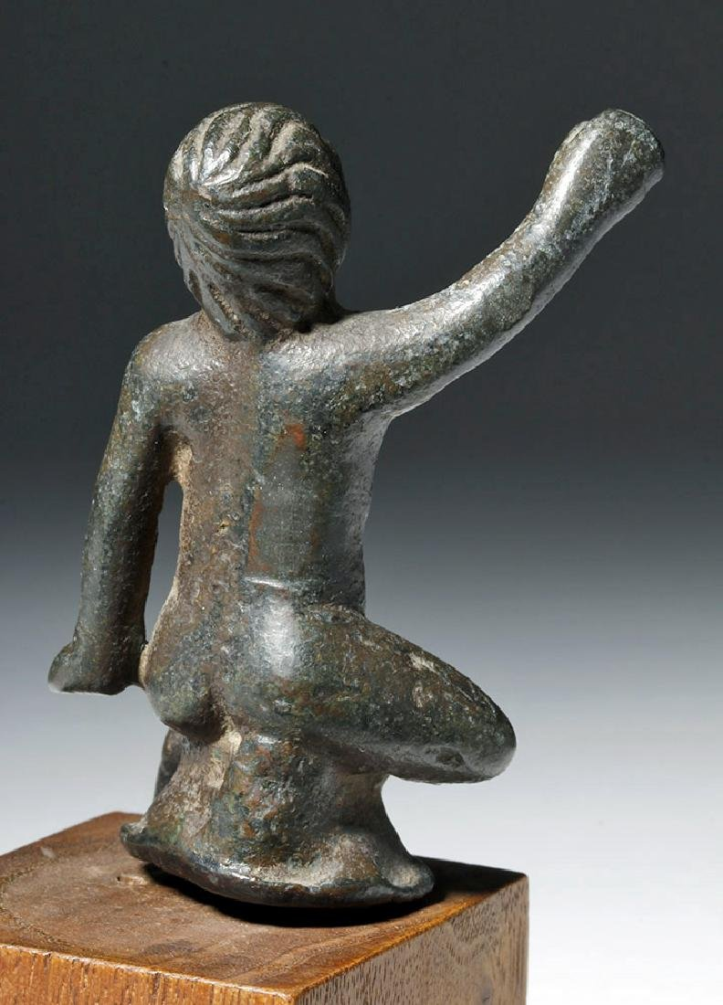 Roman Bronze Statuette of Young Boy - 5