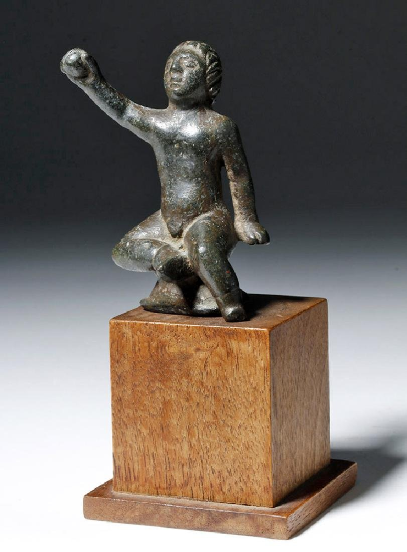 Roman Bronze Statuette of Young Boy - 6