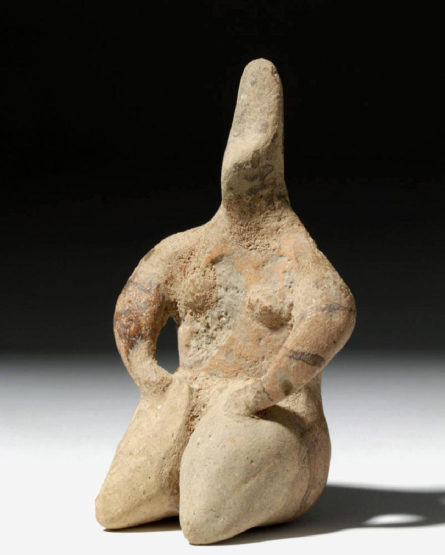 6000 Year Old Tell Halaf Pottery Fertility Figure