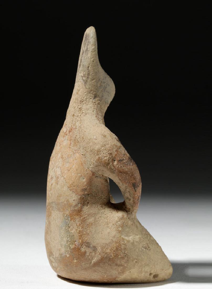 6000 Year Old Tell Halaf Pottery Fertility Figure - 3