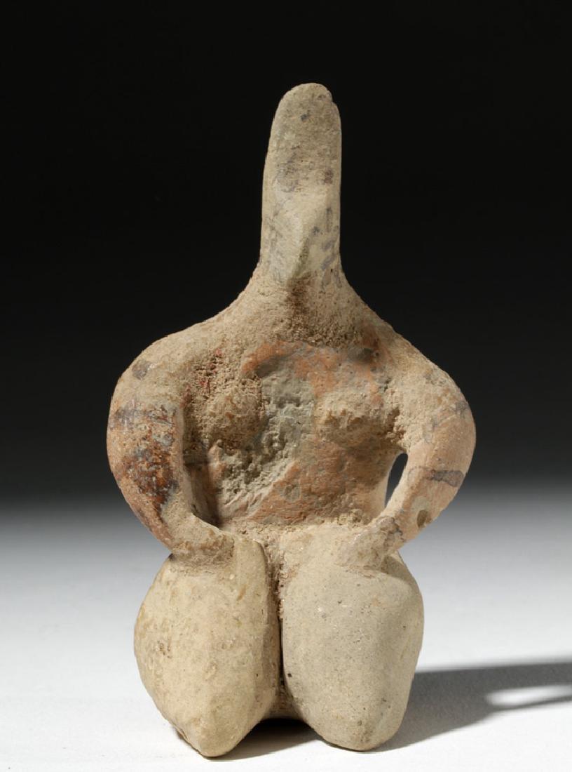 6000 Year Old Tell Halaf Pottery Fertility Figure - 5