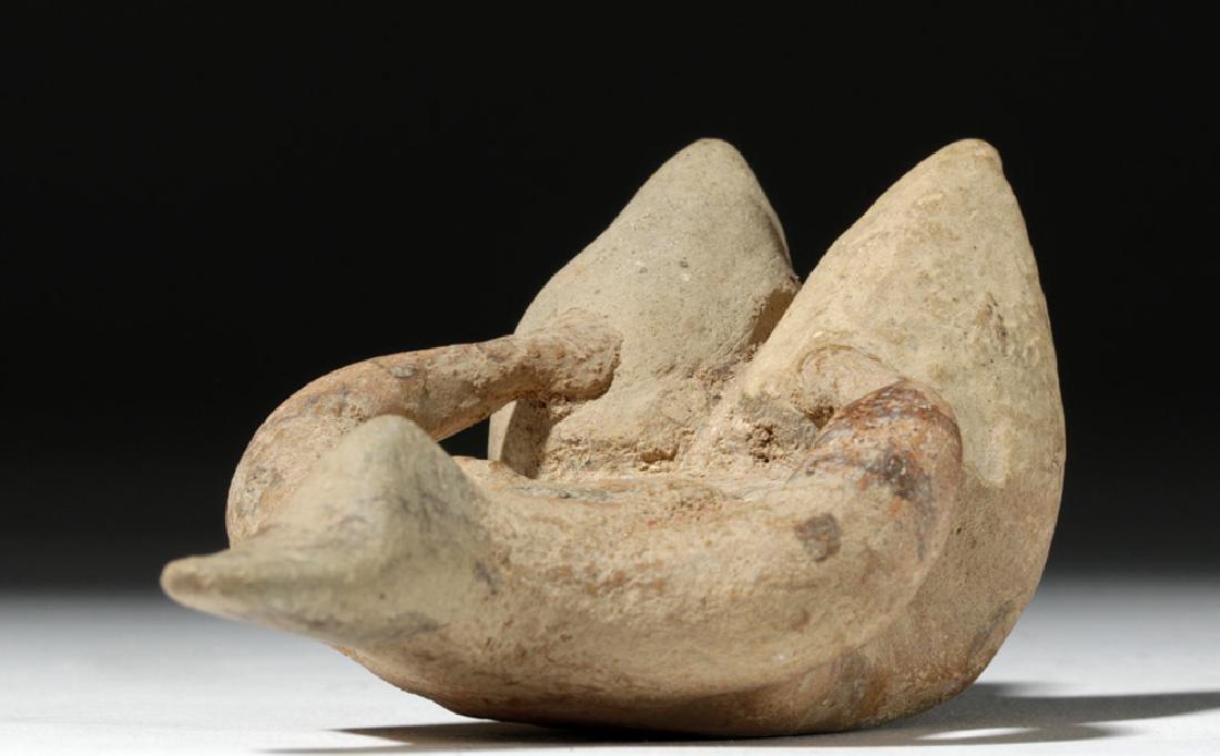 6000 Year Old Tell Halaf Pottery Fertility Figure - 7