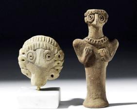 Syro-Hittite Pottery Fertility Objects (pr)