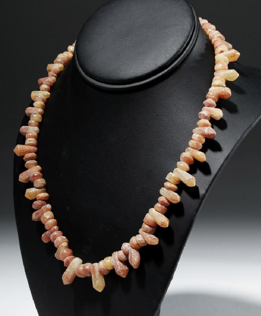 Custom Necklace w/ Ancient Bactrian Carnelian Beads
