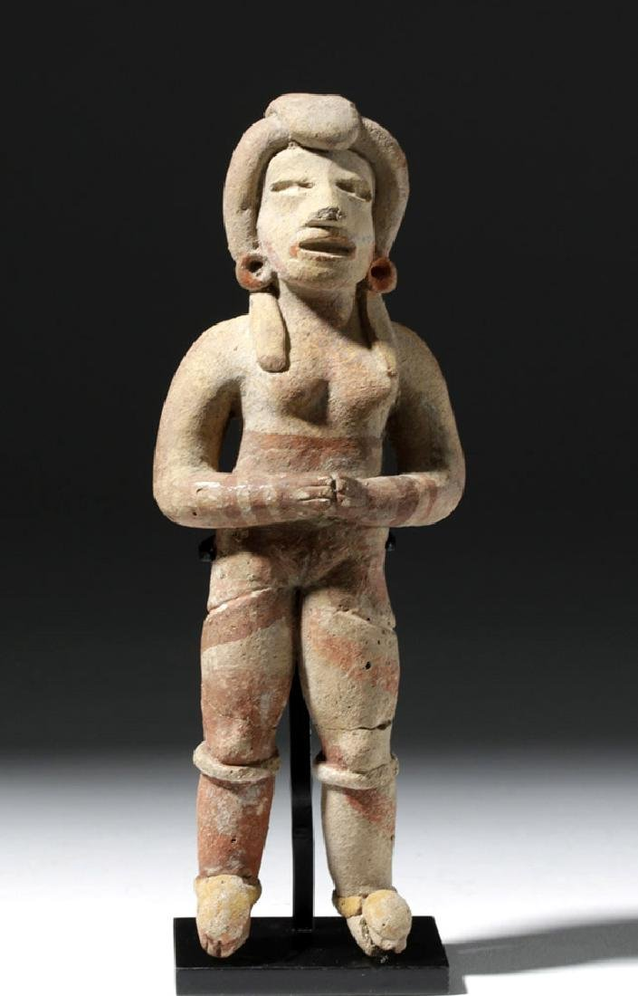 Very Early Tlatilco Pottery Standing Female