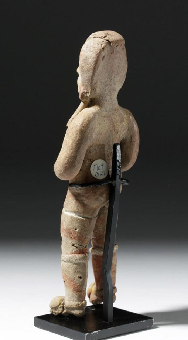 Very Early Tlatilco Pottery Standing Female - 2