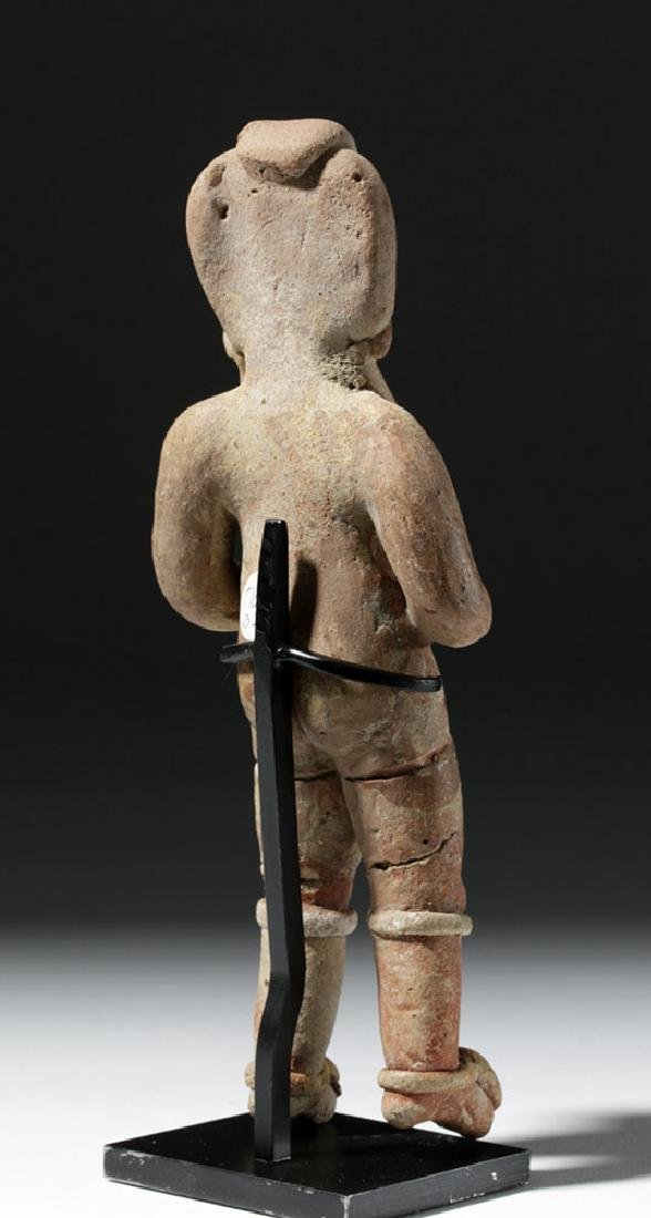 Very Early Tlatilco Pottery Standing Female - 3