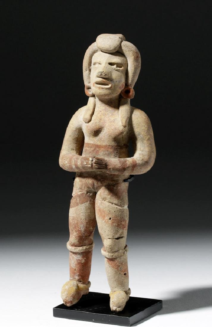 Very Early Tlatilco Pottery Standing Female - 5