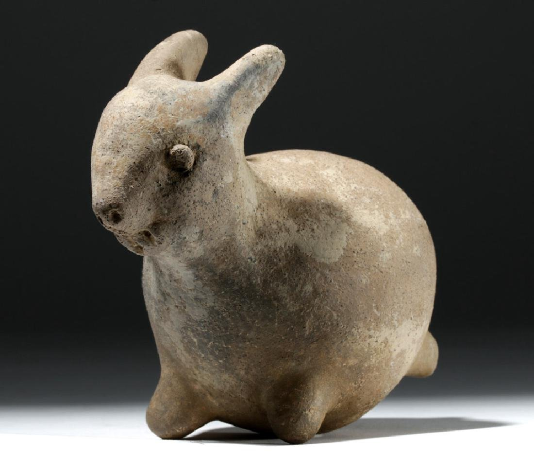 Unusual Michoacan Pleasantly Plump Pottery Rabbit