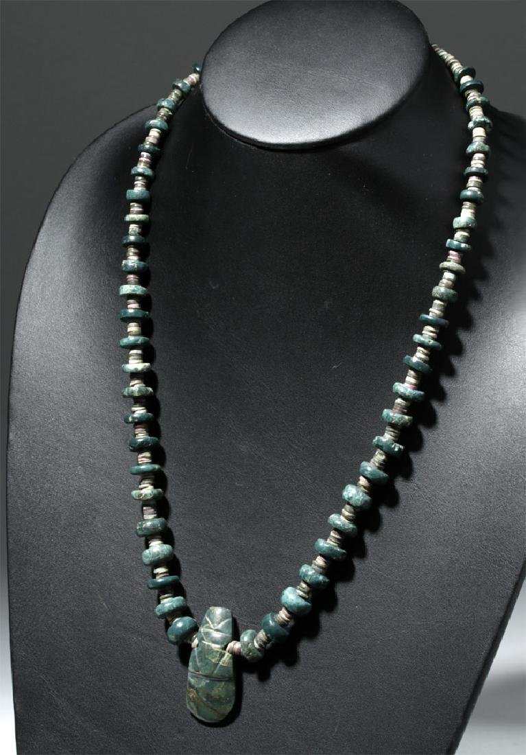 Lovely Wearable Costa Rican Jade Necklace