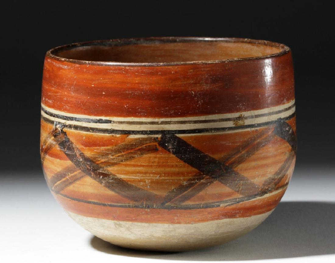 Mayan Polychrome Ceremonial Cylinder - 2