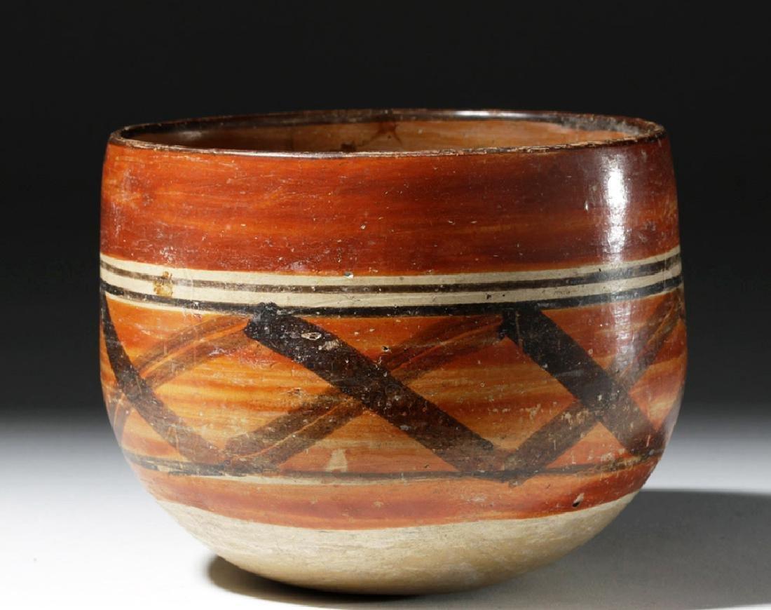 Mayan Polychrome Ceremonial Cylinder - 3