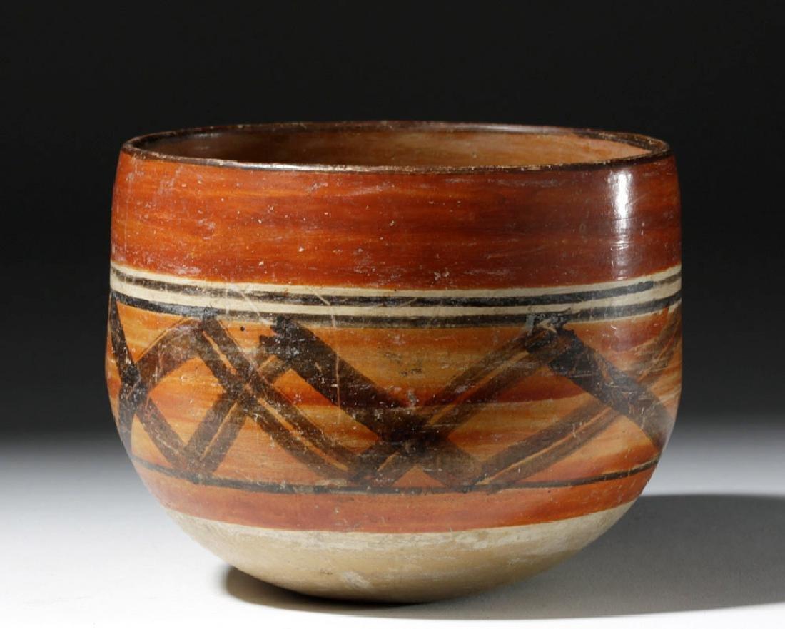 Mayan Polychrome Ceremonial Cylinder - 4