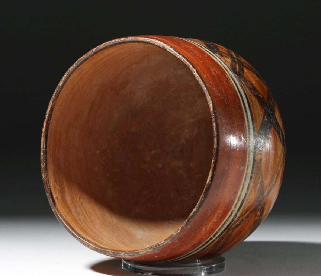 Mayan Polychrome Ceremonial Cylinder - 5