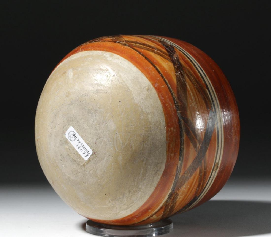 Mayan Polychrome Ceremonial Cylinder - 6