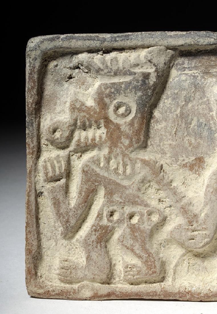 Pre-Columbian Manteno Stamp - Anamorphic Shaman - 5