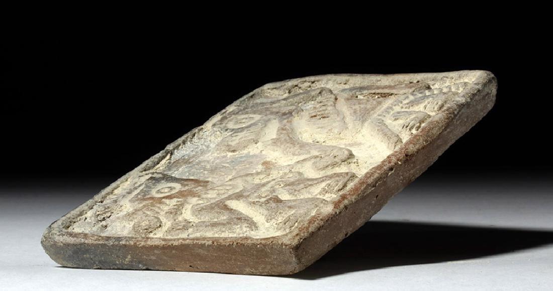 Pre-Columbian Manteno Stamp - Anamorphic Shaman - 7