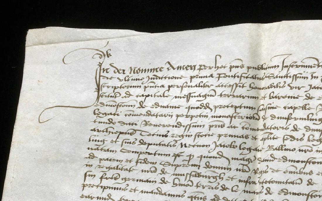 1512 Scottish Notarized Instrument (Sasine) - 3