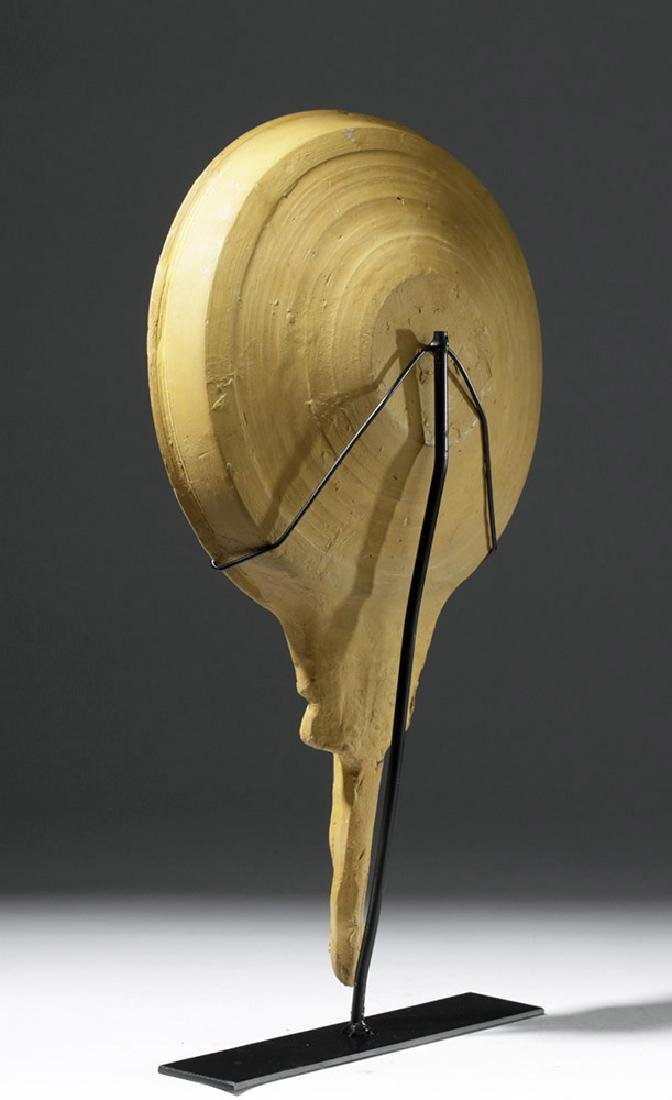 Greek Canosan Terracotta Patera - Atlas Handle - 2