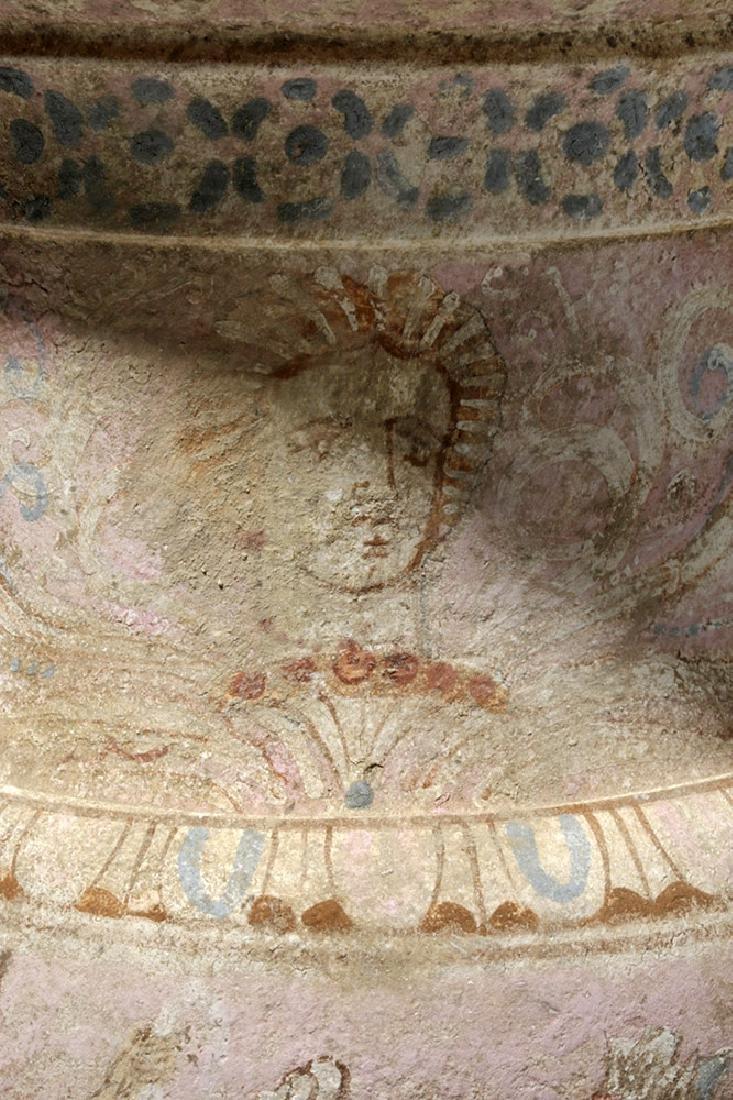 Impressive Greek Canosan Polychrome Volute Krater - 7