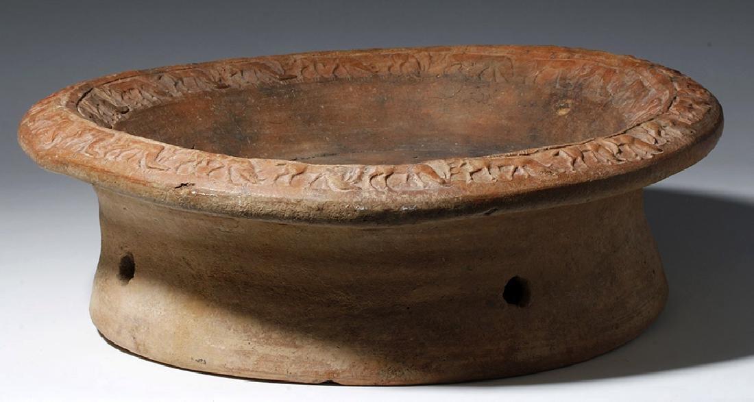 Huge Etruscan Brazier Animal Frieze, ex-Arte Primitivo - 7