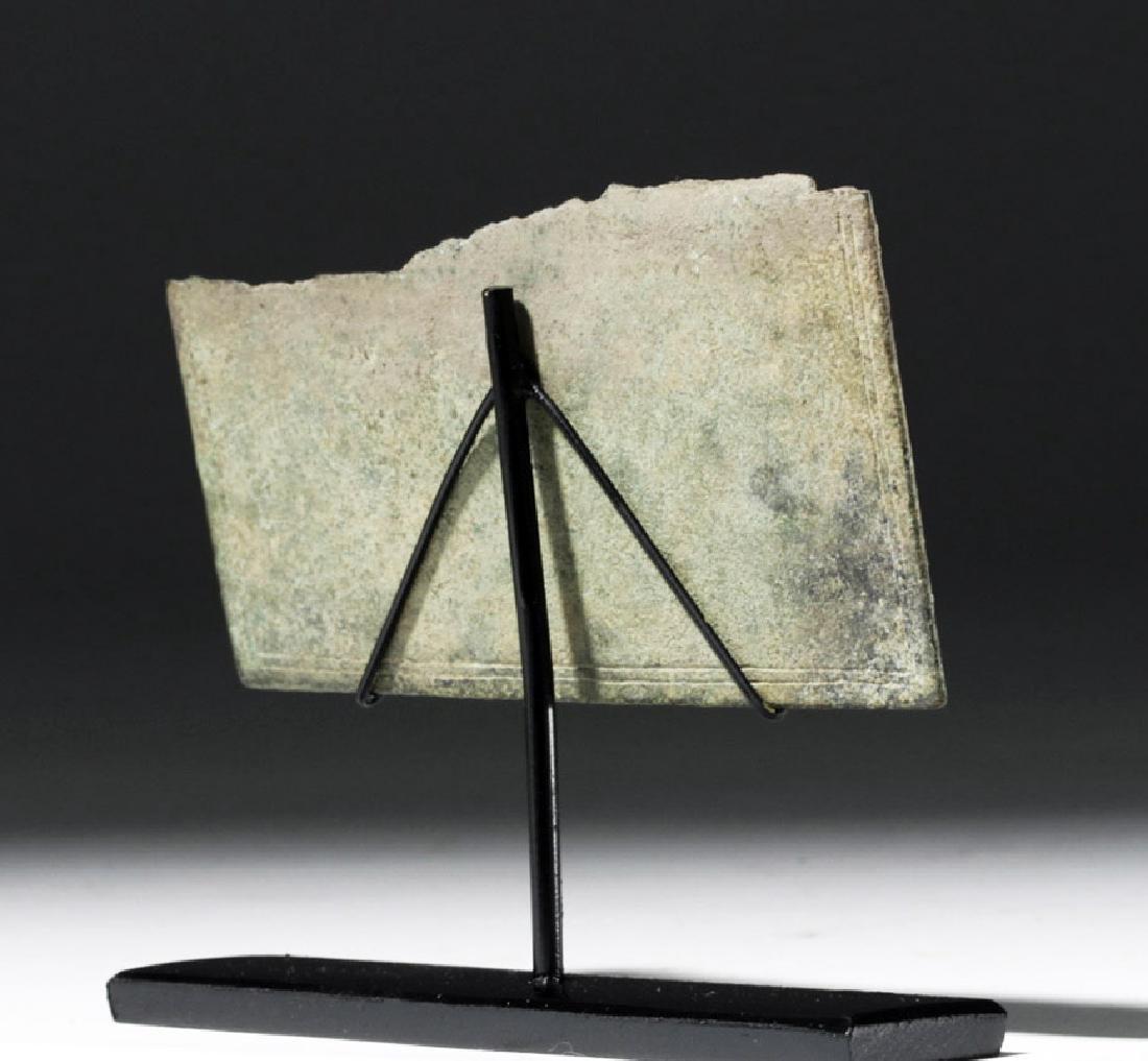 Rare Section of Roman Bronze Military Diploma - 3