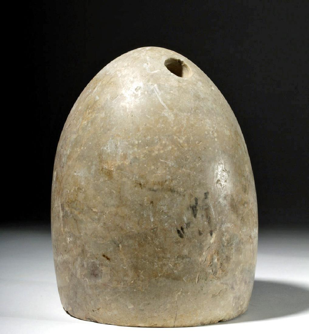 Rare / Early Bactrian Marble Idol