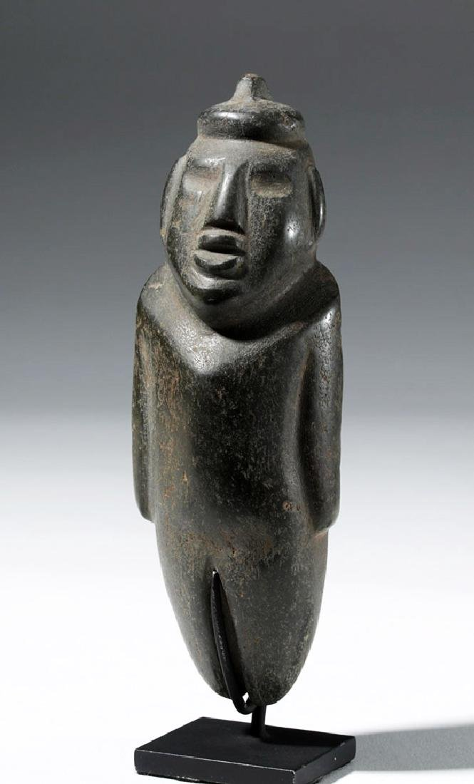 Large Guerrero Chontal Standing Stone Figure