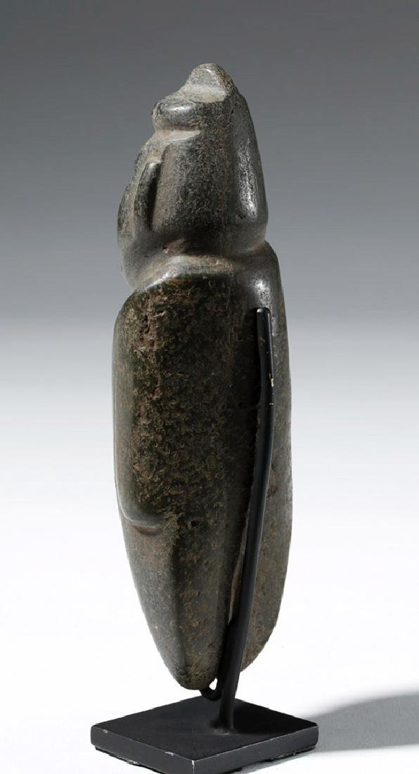 Large Guerrero Chontal Standing Stone Figure - 2